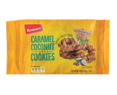 Benton's Caramel Coconut Fudge Cookies
