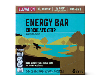 Elevation by Millville Chocolate Chip Energy Bars