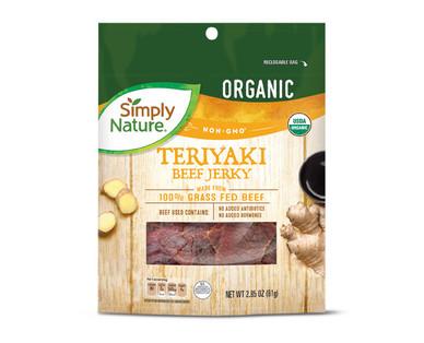 Simply Nature Teriyaki Beef Jerky