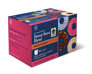 Barissimo Donut Store Blend Coffee Cups