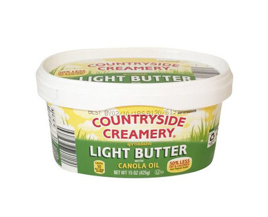 Countryside Creamery Spreadable Light Butter With Canola Oil