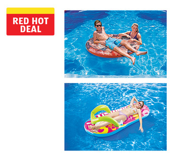 Summer Waves Cookie Float, Taco Float or Flip Flop Lounge View 1