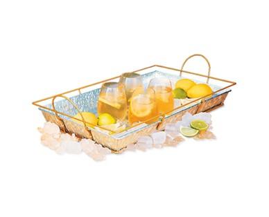 Crofton Galvanized Tray or Beverage Tub View 2