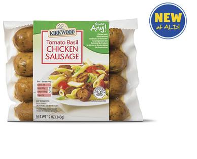 Kirkwood Never Any! Tomato Basil Chicken Sausage