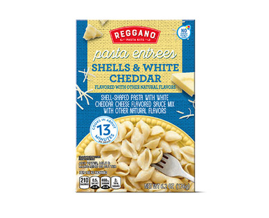 Reggano Pasta Entrees - Shells and White Cheddar