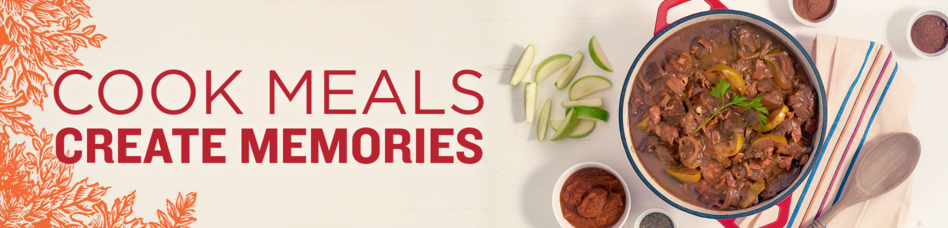 Cook Meals, Create Memories. Fall Recipes.