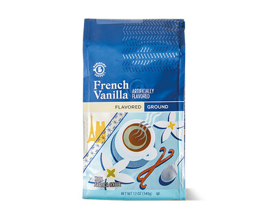 Barissimo French Vanilla Coffee Grounds