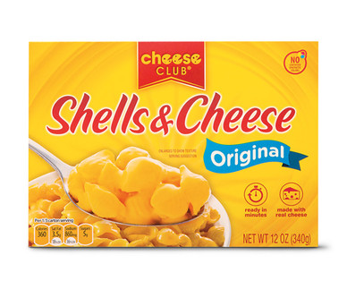Cheese Club Shells and Cheese