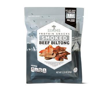 Simms Beef Biltong Smoked