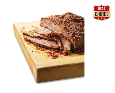 Fresh USDA Choice Salt & Pepper or Texas BBQ Beef Brisket