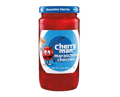 Cherry Man Maraschino Cherries