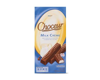 Choceur Créme Filled Mini Chocolate Bars - Milk Creme