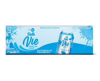 PurAqua Belle Vie Sparkling Water 12 Pack Original