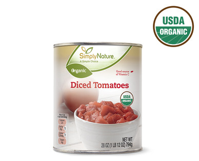 SimplyNature Organic Diced Tomatoes
