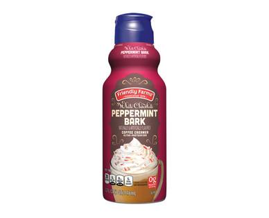 Friendly Farms White Chocolate Peppermint Bark Coffee House Inspired Creamer