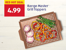 Red hot deal: Range Master Grill Toppers. $4.99. View details.