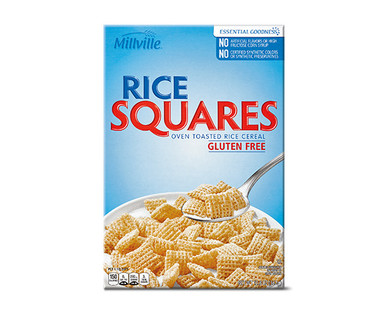 Millville Rice Squares Cereal