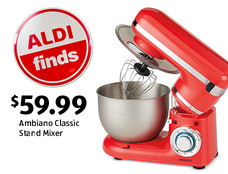 ALDI Find: Ambiano Classic Stand Mixer. $59.99. View details.