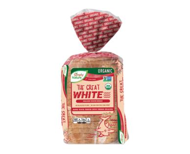 Simply Nature Organic White Bread