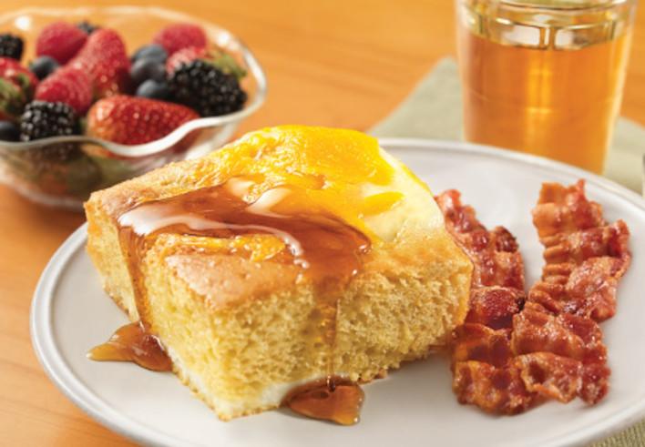 Baked Pancake Breakfast