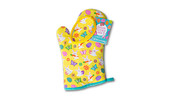 Baker's Corner Spring Oven Mitt With Cookie Mix and Cutter