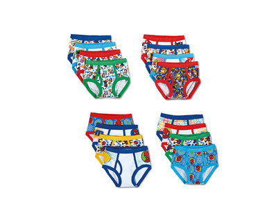 Toddler Boys' 8 Pack or Girls' 10 Pack Character Underwear View 4