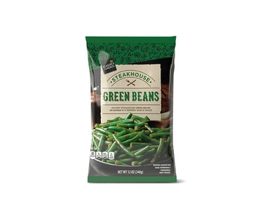Season's Choice Steakhouse Whole Green Beans or Kung Pao Broccoli View 1