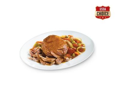 Tyson USDA Choice Beef Pot Roast Kit View 1