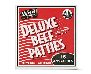 Jemm Burger Deluxe Beef Patties