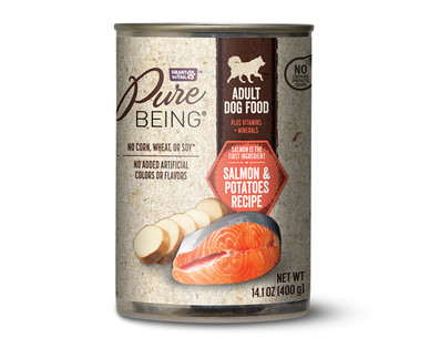 Pure Being Salmon and Potatoes Premium Dog Food
