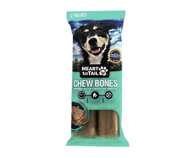 Heart to Tail Peanut Butter Chew Bones