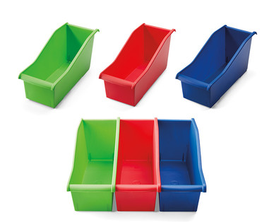 Easy Home 3-Pack Connecting Bins View 3
