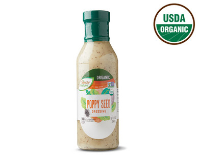 Simply Nature Organic Poppy Seed Dressing