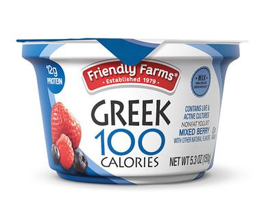 Friendly Farms Nonfat Blended Mixed Berry Greek Yogurt