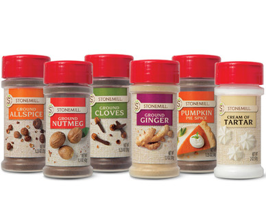 Stonemill Holiday Baking Spices Assorted Varieties