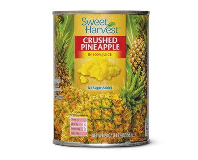 Sweet Harvest Crushed Pineapple