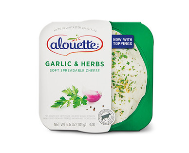 Alouette Garlic and Herbs Spreadable Cheese