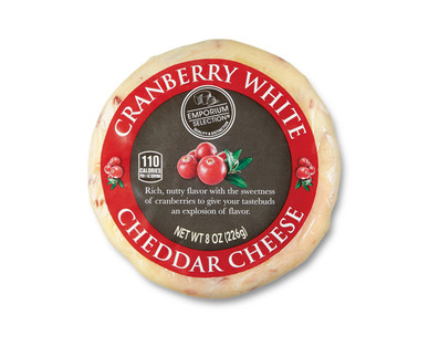 Emporium Selection Cranberry White Cheddar Cheese