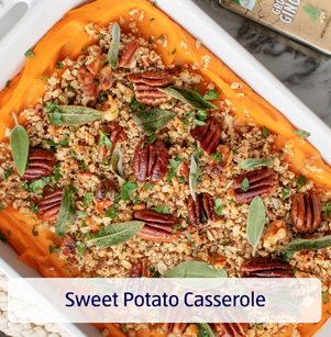 Sweet Potato Casserole. View Recipe.