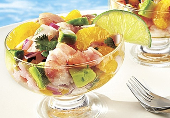 Summer Shrimp and Avocado Salad