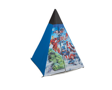 Licensed Kids' 4' x 3' Indoor/Outdoor Dome or Teepee Tent View 1