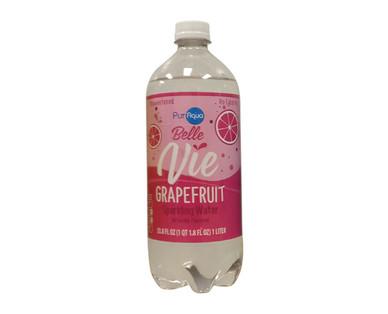 PurAqua Belle Vie 1 Liter Grapefruit Sparkling Water