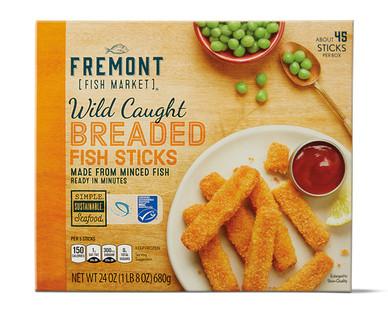 Fremont Fish Market Breaded Fish Sticks