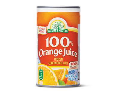 Nature's Nectar Orange Juice Concentrate