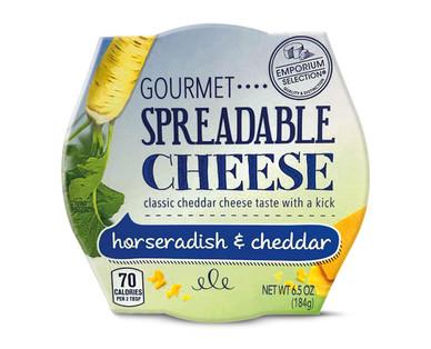 Emporium Selection Horseradish & Cheddar Gourmet Spreadable Cheese