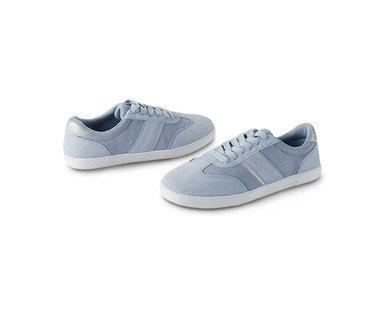 Serra Ladies Suede Sneakers View 1