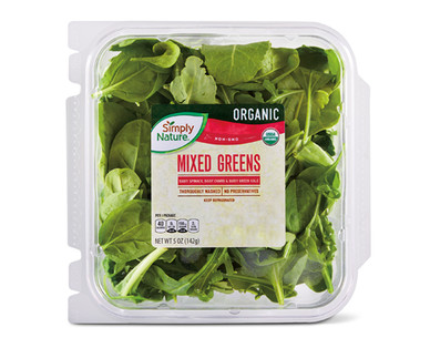 Simply Nature Organic Mixed Greens