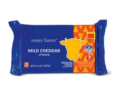 Happy Farms Mild Cheddar Cheese
