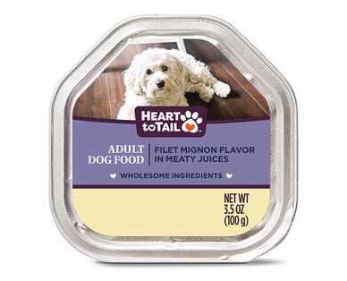 Heart to Tail Filet Mignon Dog Entree