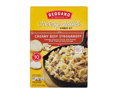 Reggano Beef Stroganoff Cheesy Skillet Dinner